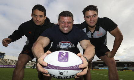 Newcastle Falcons put their weight behind Ultimate Strongman World Championship