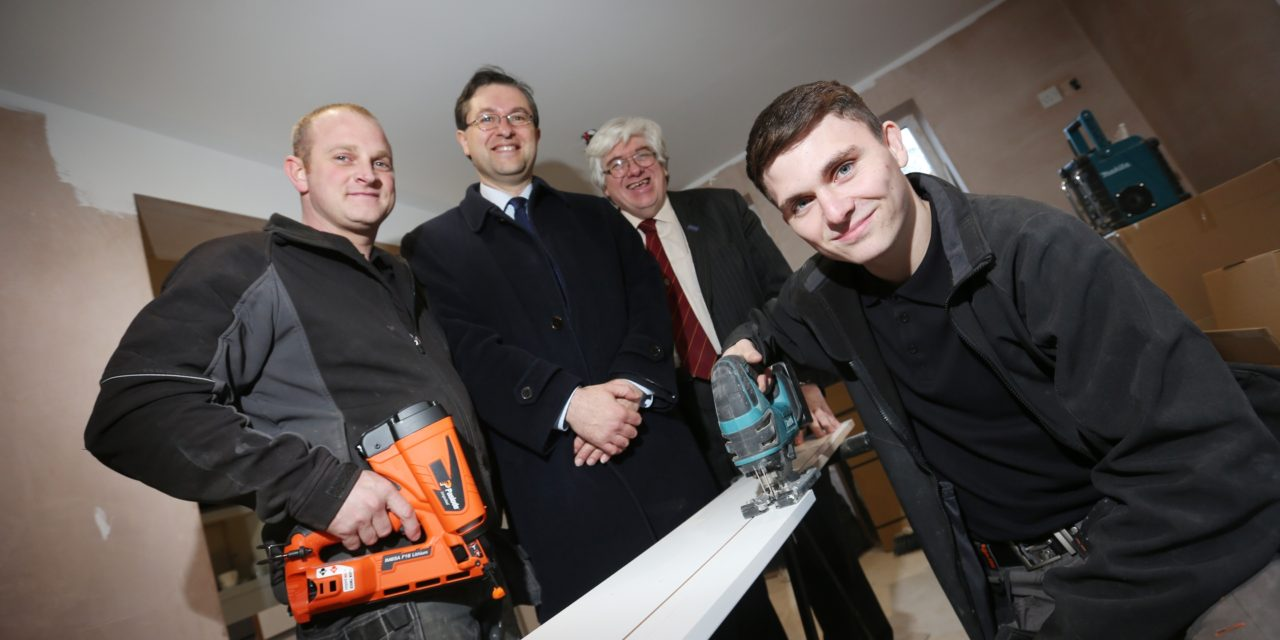 1000th apprentice supported by Durham County Council