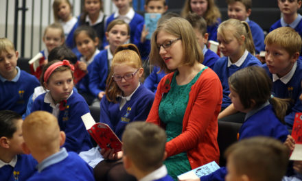Award winning, super-sleuthing children's author visits Stockton-on-tees