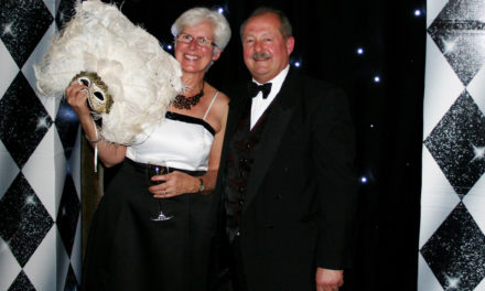 Ball raises £7,500 for charity's community chest