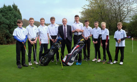 Simon Bailes Peugeot renews sponsorship of Romanby junior golf club