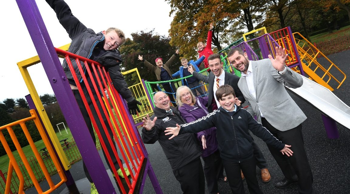 New play equipment installed in Annfield Plain