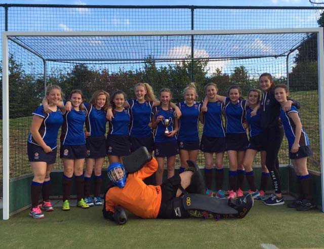 Triple success for school hockey players
