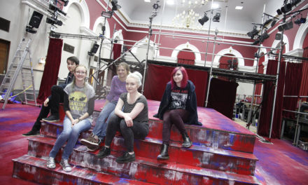 Design students set the scene for theatrical experience