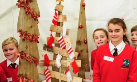 Young Entrepreneurs Christmas Market with schools from around the region
