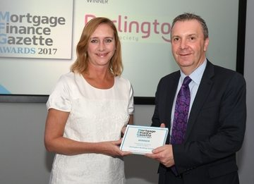 National award for Darlington Building Society's community work