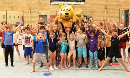 Over 100 Jump For Pudsey at Deerness Gymnastics Academy