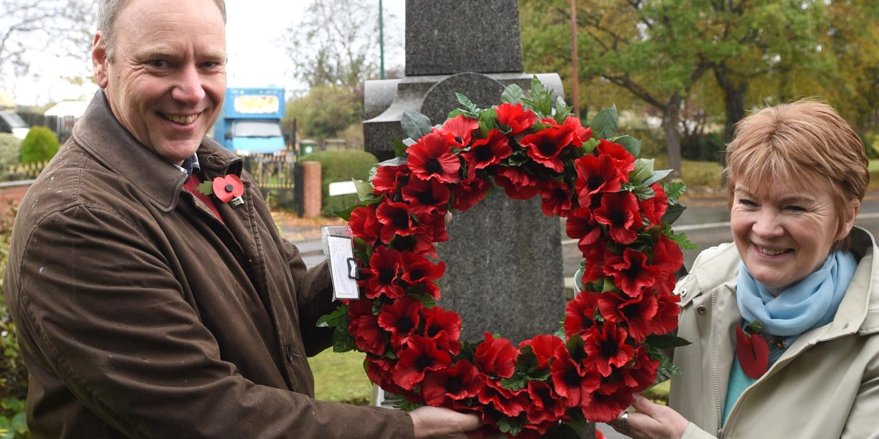 Lazenby cenotaph repaired in time for  remembrance days
