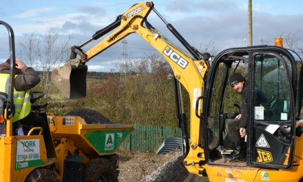 Work Underway on New Sensory Play Area at Autism Charity