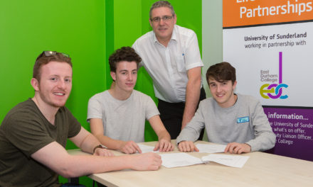 East Durham College Welcomes First Students To Higher Education Engineering Course