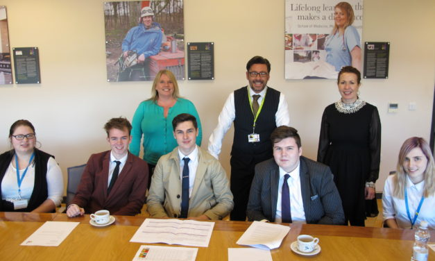 East Durham College Students Take Over The Hotseat