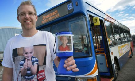 Bus Driver Ian goes the Extra Mile for Bradley