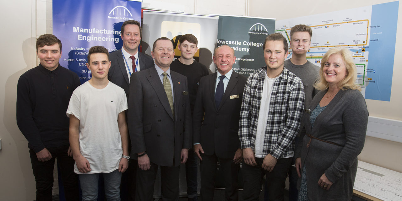 Tyne and Wear Metro embark on an exciting apprenticeship journey