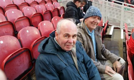 Care home residents attend Boro V Chelsea as club guests