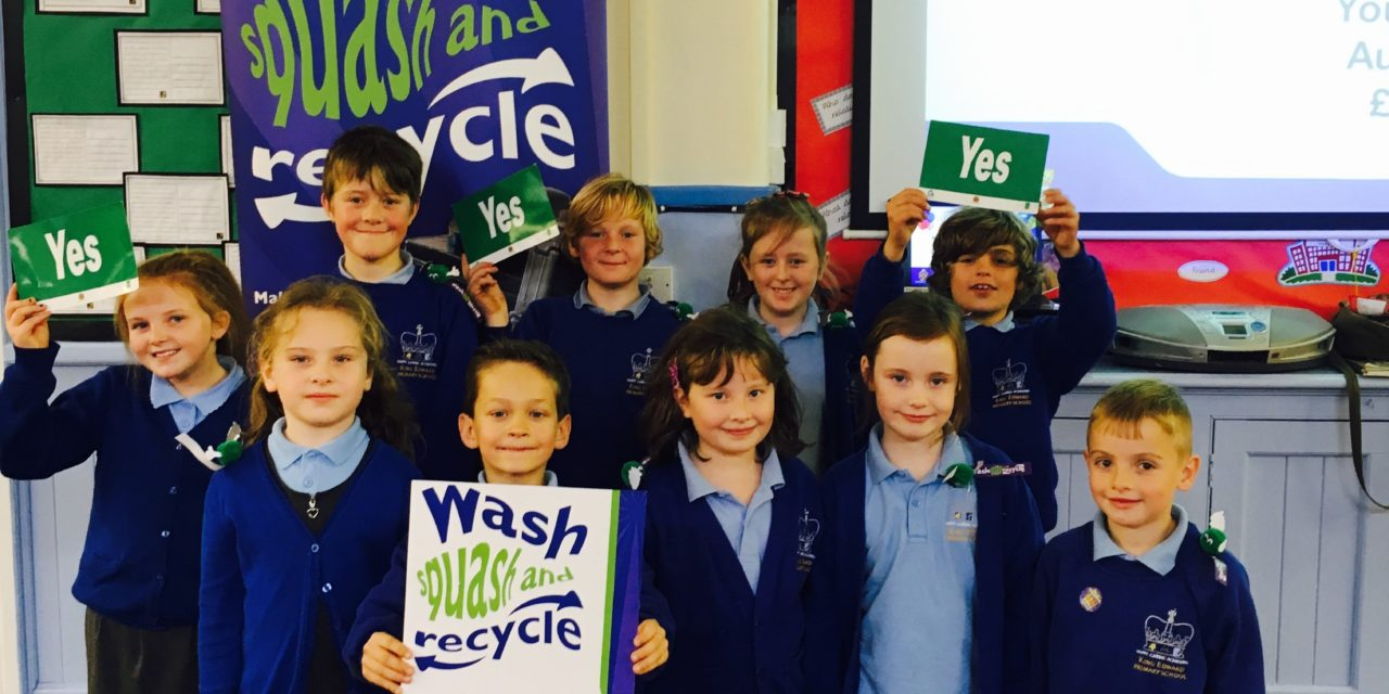 Youngsters are recycling 'kings'