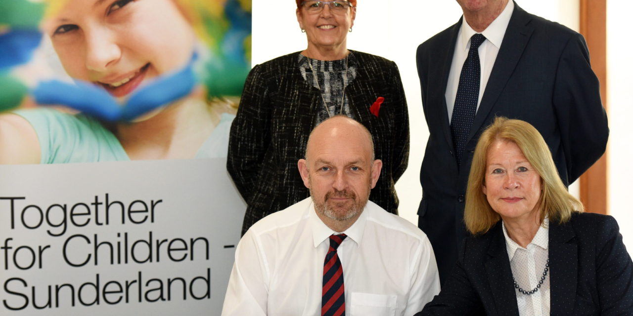 Signing Brings New Children's Services Company a Step Closer