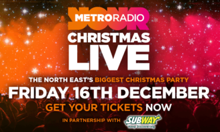 Global Superstar Joins Line-up at Metro Radio Christmas Live