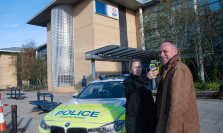 EDF Energy teams up with Northumbria Police to promote road safety