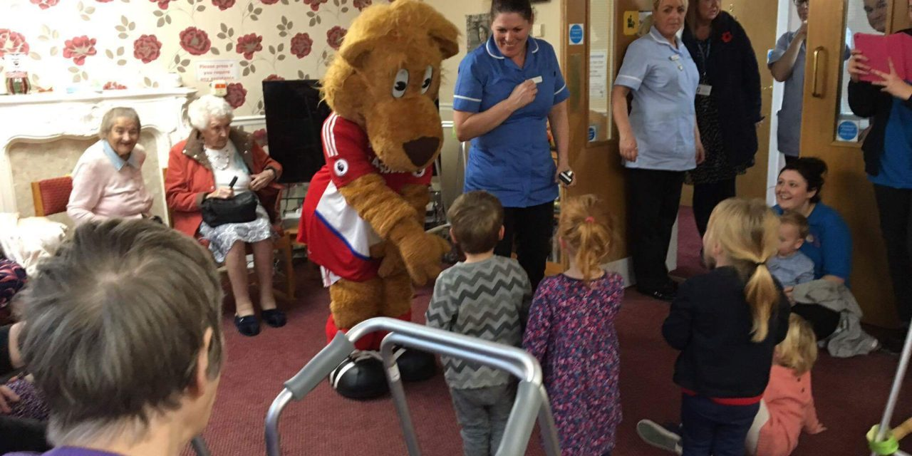 Nursery Rhyme Week a roaring success at Stockton care home