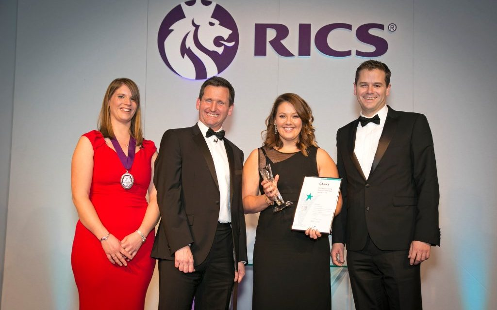 Talented young Newcastle professional scoops national award for achievements in the property industry