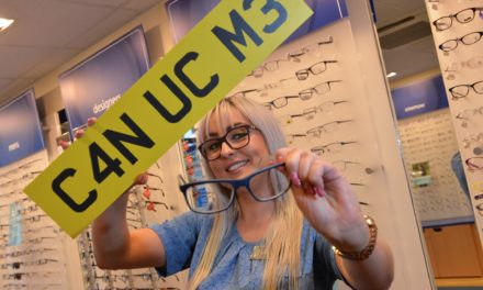 Bishop Auckland optician drives home eye tests call