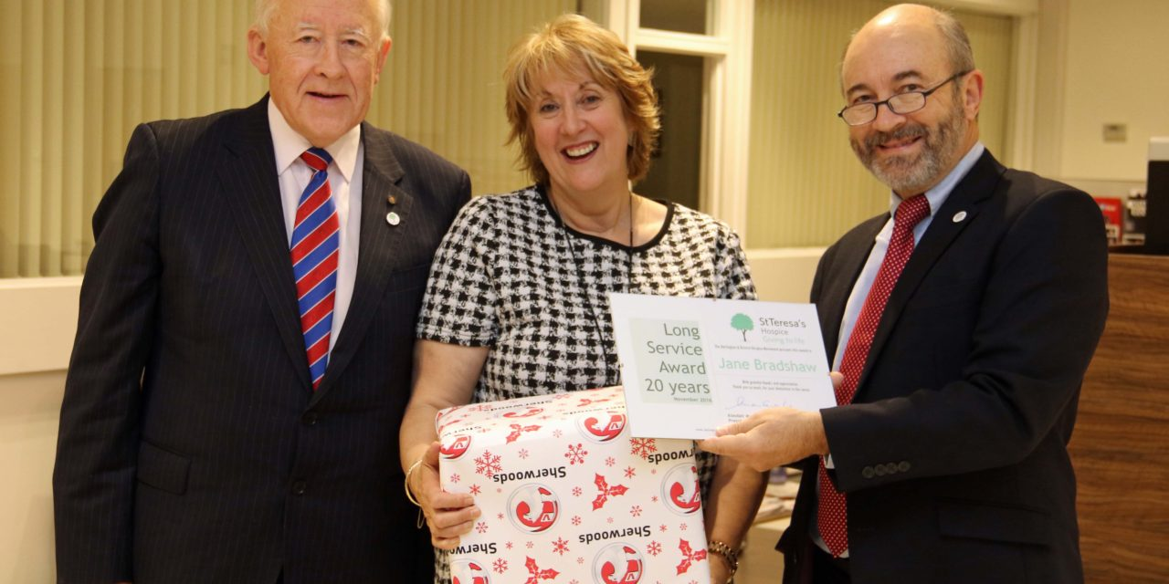 St Teresa's celebrates another year with awards for its supporters