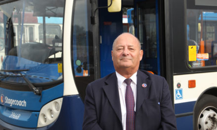 Duty manager trevor takes a step back after 40 years service on the buses