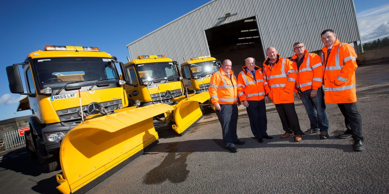 County Durham ready for winter