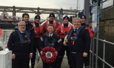Maritime Volunteers to Pay Respects Afloat