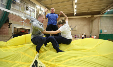 New rebound therapy helps success of Hambleton ability day