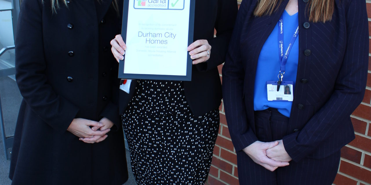 Durham landlord receives national domestic abuse accreditation