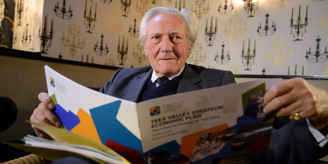 Lord Heseltine launches the Tees Valley industrial strategy