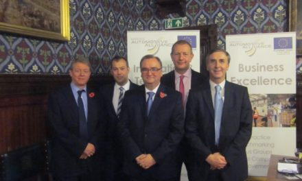 Largest Automotive Cluster to Speak at Westminster for a Second Consecutive Year to Cement the Regions Success