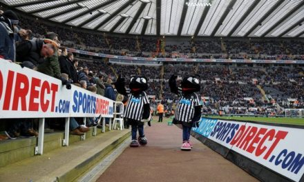Welcome 2017 at St James' Park