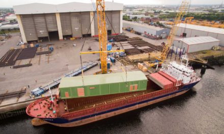 Giant 287-tonne substation exported from Teesside