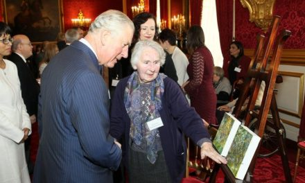 Newcastle Care Home Resident Celebrates With HRH Prince Charles in London