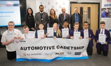 Automotive industry secures its youngest graduates