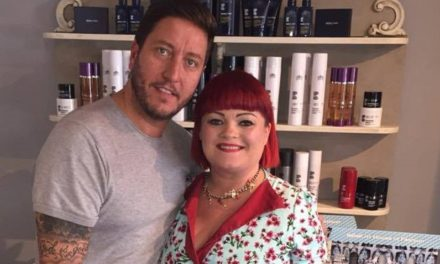 'Pure' success as celebrity brand names Hambleton hairdresser's as best in business