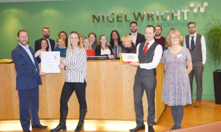 North East's Nigel Wright Recruitment raises £11,000 for Cancer Research UK