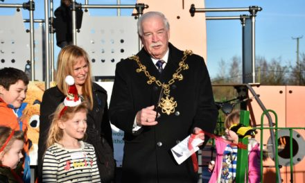 Stockton Mayor Delighted to Officially Announce Opening of Sensory Play Area