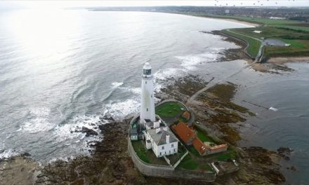 Aerial footage showcases Whitley Bay regeneration