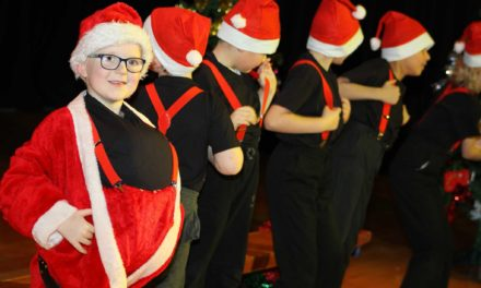 pupils celebrate 12 days of Christmas