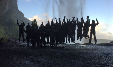 Pupils go glacier trekking on Iceland adventure