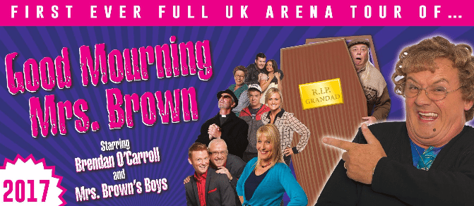 Good Mourning Mrs Brown Confirms Additional Newcastle Performance