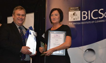 North East shopping centre housekeeper makes a sweep at awards