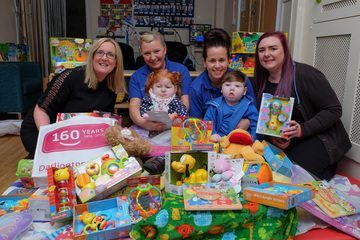 Building society helps collect Christmas toys for tots