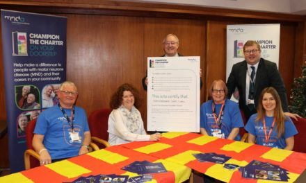 Northumberland County Council adopts the MND Charter