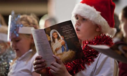 Story of Christmas at Mayors carol service