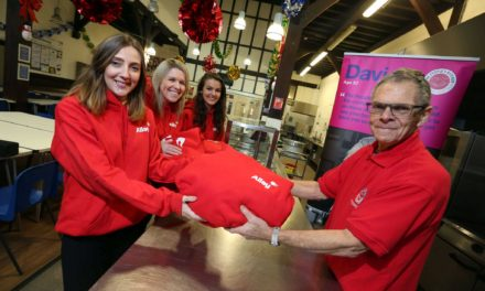 Allay finishes a charitable year with donation to the people's kitchen