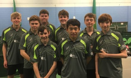 Title defence still going strong for Bishop Auckland Table Tennis Club.
